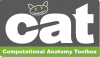 Computational Anatomy Toolbox - CAT